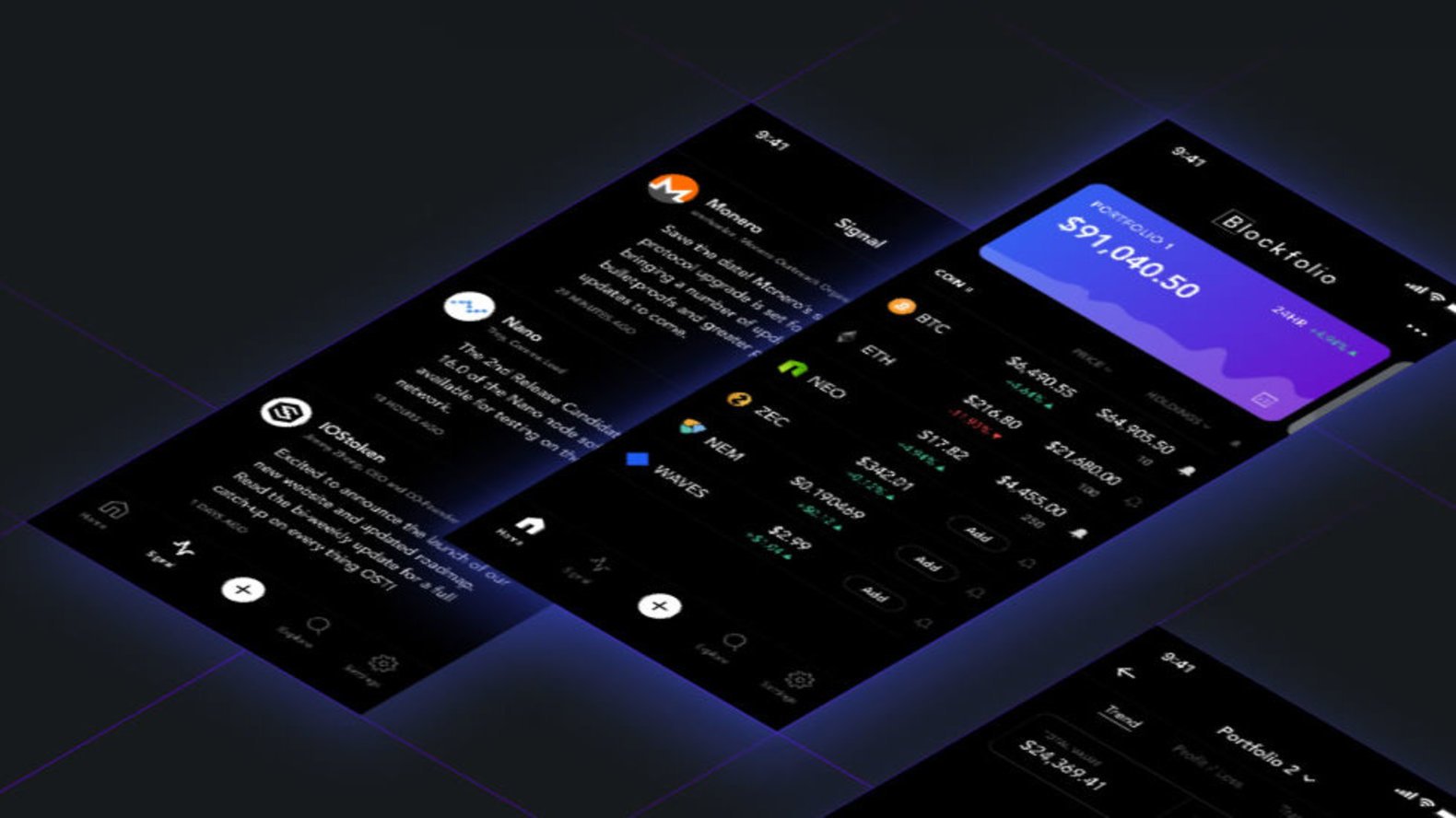 Blockfolio - Bitcoin and Cryptocurrency Tracker App